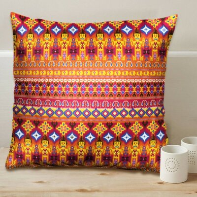 Dazzling Ikat Cushion Cover