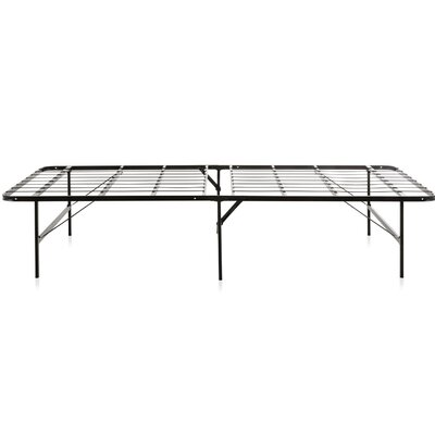 Foldable Metal Platform Bed Frame Size: King