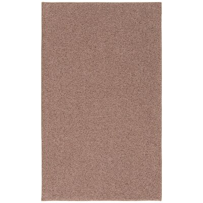 Room Accent Cinnamon Brown Area Rug Rug Size: 4' x 6'