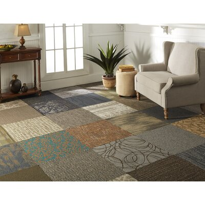Assorted Peel and Stick 24 x 24 Carpet Tile