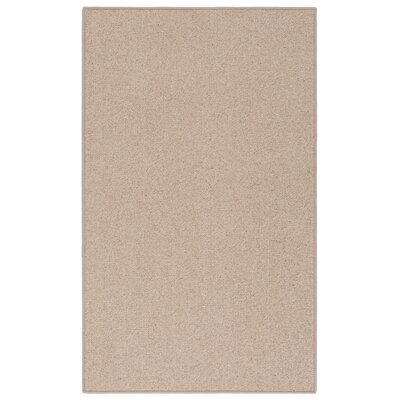 New Zealand Wool Desert Tan Area Rug Rug Size: 66 x 9