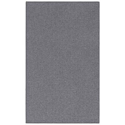 New Zealand Wool Volcanic Rock Area Rug Rug Size: 2' x 5'