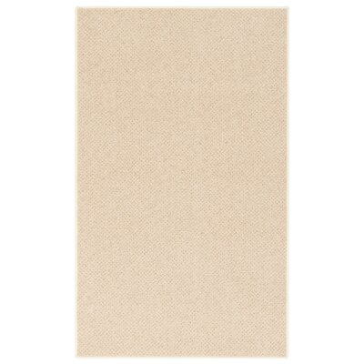 New Zealand Wool Country Beige Area Rug Rug Size: 9 x 13