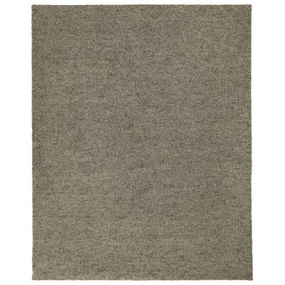 Puresoft Brown Area Rug Rug Size: 8 x 12