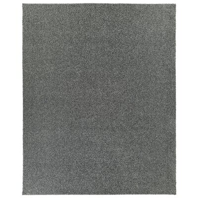 PureSoft Shaggy Dark Gray Area Rug Rug Size: Rectangle 8 x 12