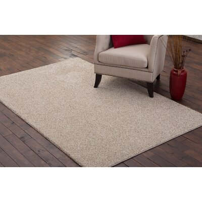Stony Creek Light Beige Area Rug Rug Size: 9 x 12