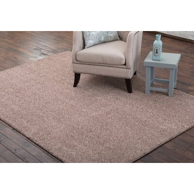 Stony Creek Dark Beige Area Rug Rug Size: 2 x 8