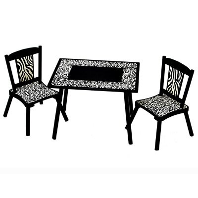 Levels of Discovery Wild Kid's Table and Desk Chair Set at Sears.com
