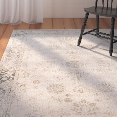 Gillmore Stone Area Rug Rug Size: Rectangle 76 x 106