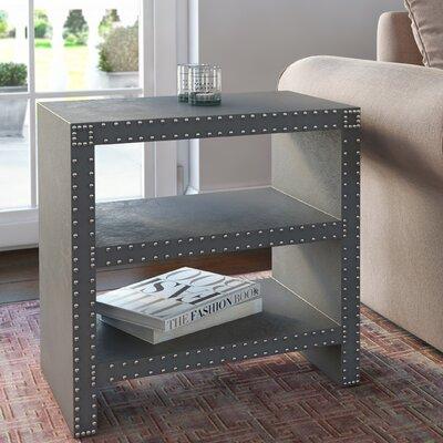 Scott End Table Color: Grey