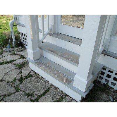 Silver Stair Tread
