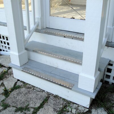Silver Nosing Stair Tread