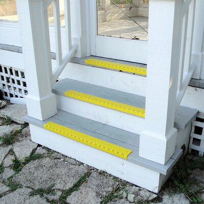 Yellow Nosing Stair Tread