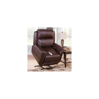 Norwich Power Lift Recliner Upholstery: Jive Java