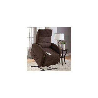 Newton Power Lift Recliner Upholstery: Jive Java