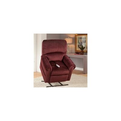 Brookfield Power Lift Recliner Upholstery: Bryan Wine