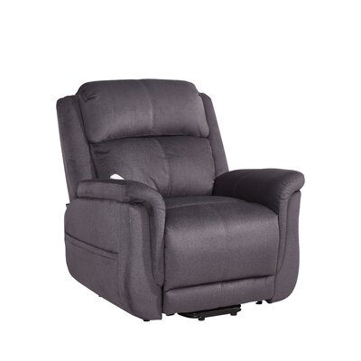 Hampton Infinite Position Lift Chair Color: Wellspring Slate