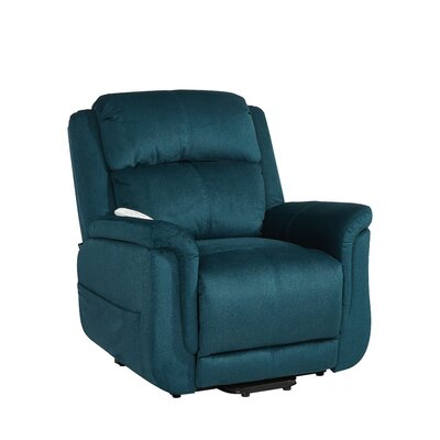 Hampton Infinite Position Lift Chair Color: Wellspring Seaglass