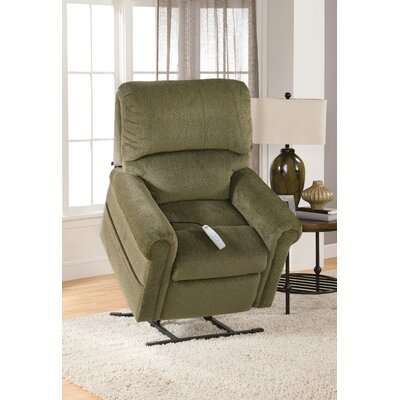 Brookfield Power Lift Recliner Upholstery: Bryan Forest