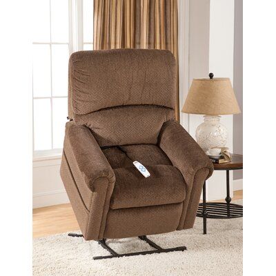 Brookfield Power Lift Recliner Upholstery: Bryan Chocolate
