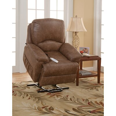 Mystic Power Lift Recliner Upholstery: Palance Silt