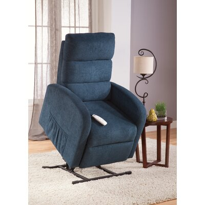 Newton Power Lift Recliner Upholstery: Jive Petrol