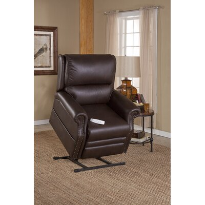 Sheffield Power Lift Recliner Upholstery: Viva Cocoa