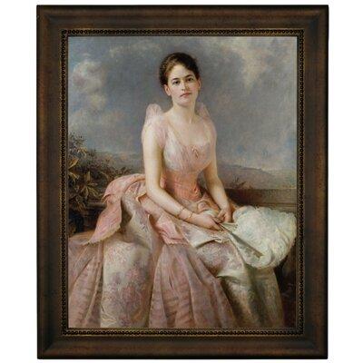 'Portrait of Juliette Gordon Low 1887' Framed Graphic Art Print on Canvas Size: 16.75
