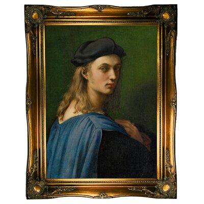 'Portrait of Bindo Altoviti' Framed Graphic Art Print on Canvas