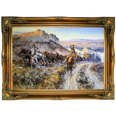 'The Jerkline 1912' Framed Graphic Art Print on Canvas Size: 24.5