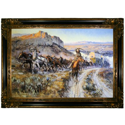 'The Jerkline 1912' Framed Graphic Art Print on Canvas Size: 24.25