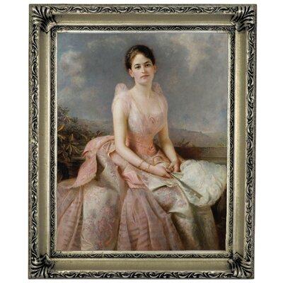 'Portrait of Juliette Gordon Low 1887' Framed Graphic Art Print on Canvas Size: 17