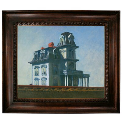 'The House' by Edward Hopper Framed Graphic Art Print on Canvas Size: 27