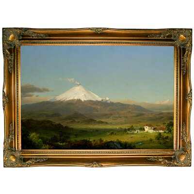 'Cotopaxi 1855' Framed Graphic Art Print on Canvas