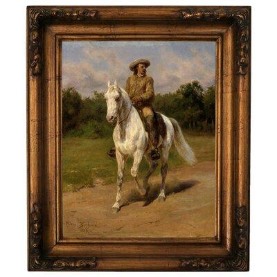 'Col. William F. Cody Buffalo Bill 1889' Graphic Art Print on Canvas Size: 19.5