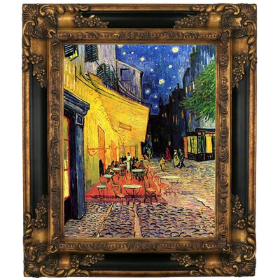 'The Cafe Terrace on the Place du Forum, Arles, at Night' by Vincent van Gogh Graphic Art Print on Canvas Size: 15.25