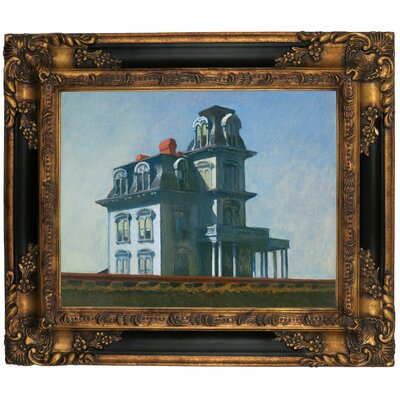 'The House' by Edward Hopper Framed Graphic Art Print on Canvas Size: 21.25