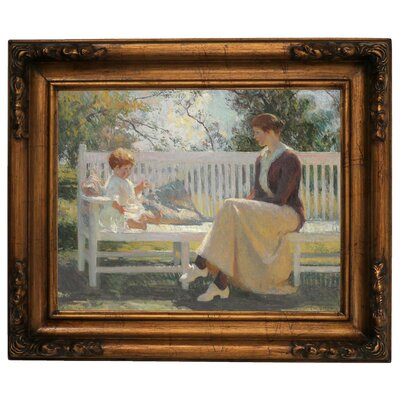 'Eleanor and Benny 1916' Framed Graphic Art Print on Canvas Size: 15.5