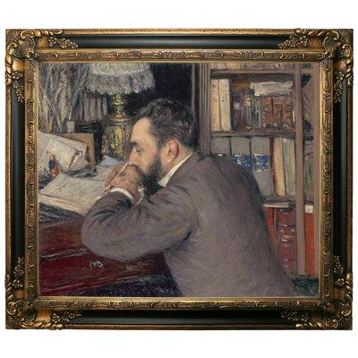 'Henri Cordier 1883' Framed Graphic Art Print on Canvas Size: 25.25