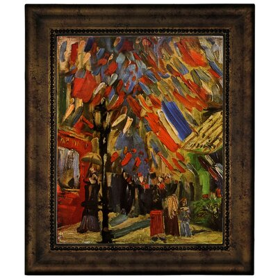 'The Fourteenth of July Celebration in Paris' by Vincent van Gogh Graphic Art Print on Canvas Size: 12.75