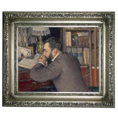 'Henri Cordier 1883' Framed Graphic Art Print on Canvas Size: 11