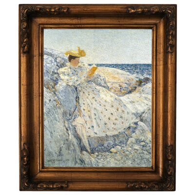 'Summer Sunlight Isles of Shoals 1892' Framed Graphic Art Print on Canvas Size: 14.5