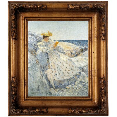 'Summer Sunlight Isles of Shoals 1892' Framed Graphic Art Print on Canvas Size: 19.5