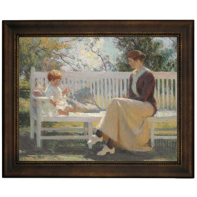'Eleanor and Benny 1916' Framed Graphic Art Print on Canvas Size: 13.75