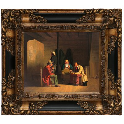 'Country Politician 1849' Framed Graphic Art Print on Canvas Size: 13.25