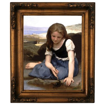 'The Crab 1869' Framed Graphic Art Print on Canvas Size: 19.5