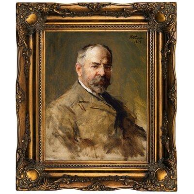 'John Philip Sousa 1909' Framed Oil Painting Print on Canvas Format: Bronze Framed, Size: 19.5