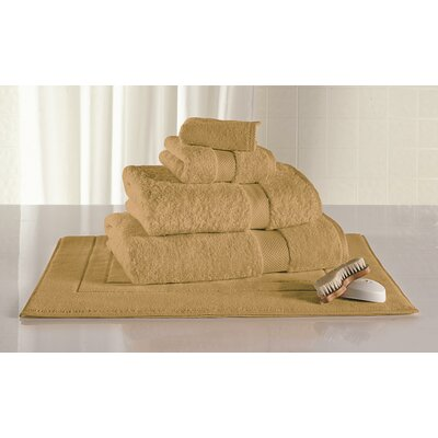 Canyon 6 Piece Towel Set Color: Wheat
