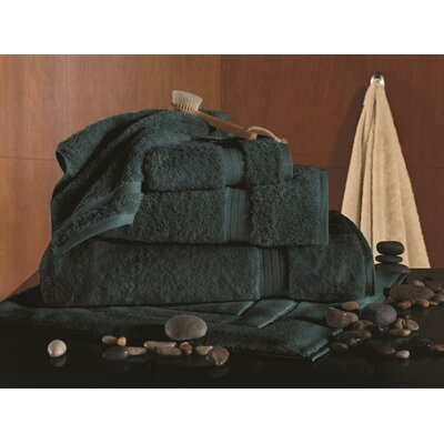 Bamboo Rayon 6 Piece Towel Set Color: Mountain Moss