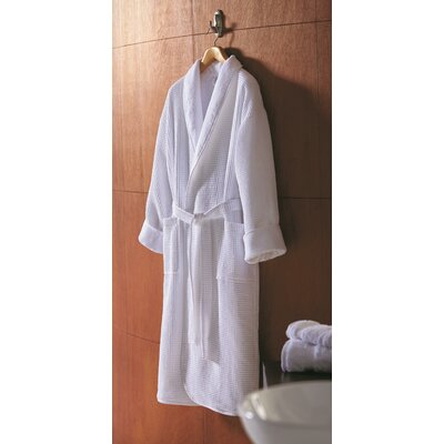 Pique Robe Size: Small/Medium, Color: White